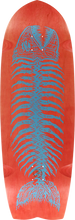 Alva - Pescado Grande Deck-11.75x36.5 Red/blue (Skateboard Deck)