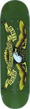 Anti Hero - Classic Eagle Deck-8.38 Green (Skateboard Deck)
