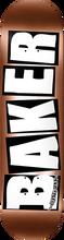 Baker - Brand Logo Deck-8.25 Copper Foil (Skateboard Deck)