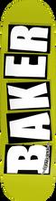 Baker - Brand Logo Deck-8.47x32 Green (Skateboard Deck)