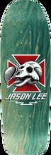 Blind - Lee Dodo Skull Screened Deck-9.62x31.8 Teal (Skateboard Deck)