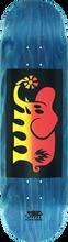 Black Label - Elephant Fade Block Deck-8.5 Asst Red/yel (Skateboard Deck)