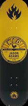 Black Label - Adams Kid Records Deck-8.68x32.62 (Skateboard Deck)