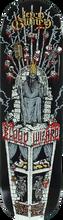 Blood Wizard - Wizard Gurney Throne Deck-8.5 (Skateboard Deck)