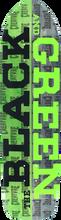 Creature - Black & Green Deck-8.5x32.25 (Skateboard Deck)