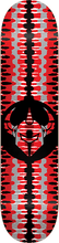 Darkstar - Badge Deck-7.75 Red (Skateboard Deck)
