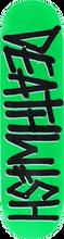 Death Wish - Deathspray Deck-7.75 Neon Grn/blk/wht (Skateboard Deck)