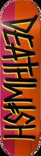 Death Wish - Deathspray Split Deck-7.75 Org/red (Skateboard Deck)