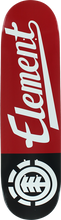 Element - Script Deck-8.37 Red/blk Ppp (Skateboard Deck)
