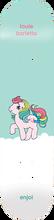 Enjoi - Barletta My Little Pony Deck-8.0 R7 (Skateboard Deck)