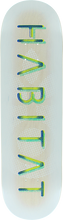 Habitat - Reverb Stencil Deck-8.5 (Skateboard Deck)