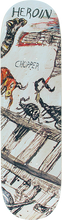 Heroin - Chopper Enemy Ritual Deck-8.44 (Skateboard Deck)