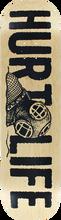 Hurt Life - Life Diver Deck-8.5 Natural (Skateboard Deck)