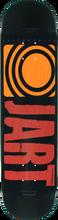 Jart - Classic Deck-7.75 Blk/red/org (Skateboard Deck)