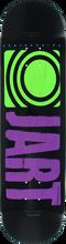 Jart - Classic Deck-8.25 Blk/pur/lime (Skateboard Deck)