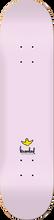 Krooked - Ikons Deck-7.75 Pink (Skateboard Deck)