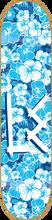 Life Extension - Og Logo Hawaiian Deck-8.0 Blue/wht (Skateboard Deck)