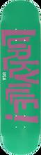 Lurkville - Logo Deck-7.75 Davenport Color Teal/pur (Skateboard Deck)