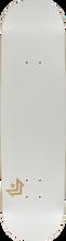 Mini Logo - Deck 124/k-12 -7.5 Chevron Pearl White Ppp (Skateboard Deck)