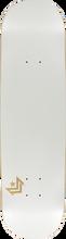 Mini Logo - Deck 127/k-12 -8.0 Chevron Pearl White Ppp (Skateboard Deck)