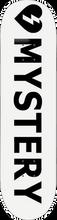 Mystery - Logo Deck-8.25 White (Skateboard Deck)