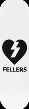 Mystery - Fellers Heart Deck-8.12 (Skateboard Deck)