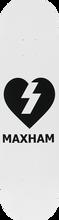Mystery - Maxham Heart Deck-8.0 (Skateboard Deck)