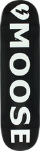 Mystery - Moose Logo Deck-8.0 Black (Skateboard Deck)