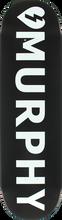 Mystery - Murphy Logo Deck-8.25 Black (Skateboard Deck)