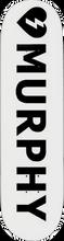 Mystery - Murphy Logo Deck-8.25 White (Skateboard Deck)