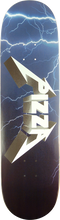 Pizza - Metal Deck-8.5 (Skateboard Deck)