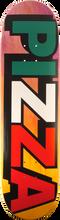 Pizza - Tri Color Logo Deck-8.37 (Skateboard Deck)