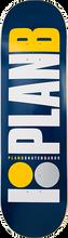 Plan B - B Og Deck-8.75  Navy/wht/gold/grey (Skateboard Deck)