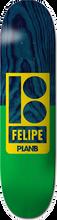 Plan B - B Felipe Sections Deck-8.1 (Skateboard Deck)