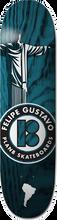 Plan B - B Felipe Silhouette Deck-8.0 (Skateboard Deck)