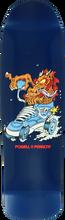 Powell Peralta - Cab Half Dragon Deck-9x31.9 Navy (Skateboard Deck)