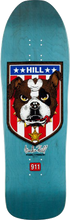 Powell Peralta - Hill Bulldog Deck-10x31.5 Blue (Skateboard Deck)
