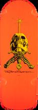 Powell Peralta - Ray Rod Skull/sword Og Snub Deck-10x28.2 Org (Skateboard Deck)
