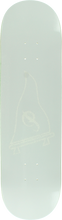 Primitive - Raised Pennant Logo Deck-8.38 White (Skateboard Deck)