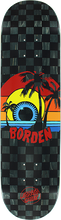 Santa Cruz - Borden Sunset Deck-8.0 (Skateboard Deck)