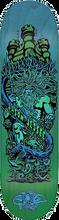 Santa Cruz - Jessee Neptune Deck-8.0 Grn/blue Fade (Skateboard Deck)