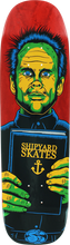 Shipyard Skates - Preacher Deck-9x32.5 Red (Skateboard Deck)