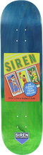 Siren - Wax Packs Basketball Deck-8.12 Faded Veneer (Skateboard Deck)