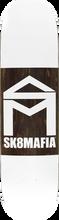 Skate Mafia - House Double Dip Deck-8.06 White (Skateboard Deck)