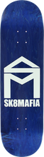 Skate Mafia - House Logo Stained Deck-8.6 Asst.stain (Skateboard Deck)