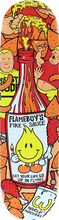 World Industries - Flameboy Fire Sauce Deck-8.0 (Skateboard Deck)
