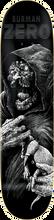 Zero - Burman Faces Of Death Deck-8.37 R7 (Skateboard Deck)