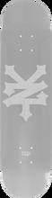 Zooyork - Big Cracker Deck-7.75 Silver (Skateboard Deck)
