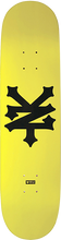 Zooyork - Big Cracker Deck-7.8 Taxi Yellow (Skateboard Deck)
