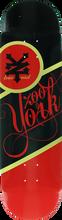 Zooyork - Black Label Deck-8.25 Blk/red (Skateboard Deck)